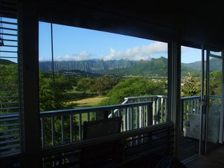 Kailua studio photo - Spectacular overlooking golf course below