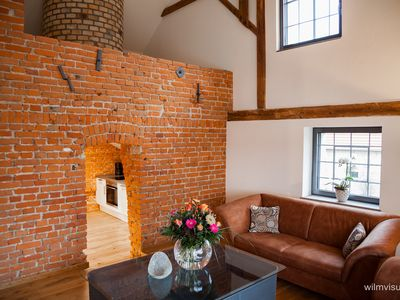 "Three stylish apartments in the Old Brewery - Ferienwohnung ""Hopfenseiher"""
