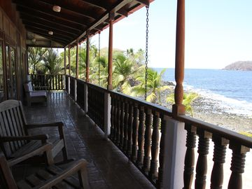 View South at Casa de la Playa Vacation Home, Flamingo, Costa Rica
