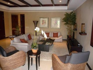 Playa Conchal condo photo - Main Living Room with Plasma TV