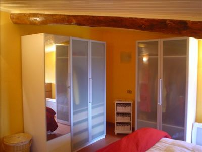 San Martino in Freddana house rental - Master bedroom plenty of clothes storage.