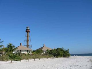 Sanibel Island condo photo - Famous Sanibel Lighthouse a short stroll away