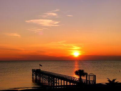 Breathtaking sunsets over the Gulf of Mexico from your own balcony