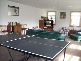 Hyannis - Hyannisport house photo - Detached Game room with Ping Pong/ Pull Out Couch