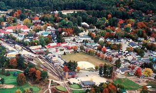 Bartlett condo photo - Aerial view of North Conway
