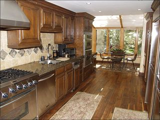 Vail house photo - Gourmet Kitchen with Separate Breakfast Nook