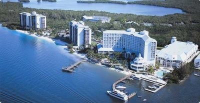 Sanibel Harbour Resort with adjacent Condo Buildings
