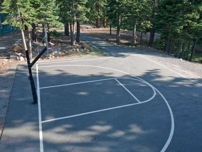 Northstar recreation center - private club. Basketball court.