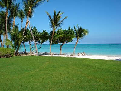 Punta Cana villa rental - Beach at the Clubhouse