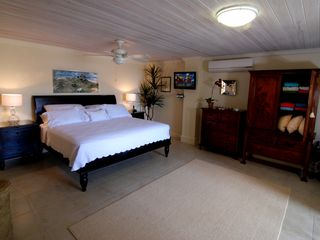St. Lawrence Gap condo photo - Master bedroom, spacious, luxurious and comfortable