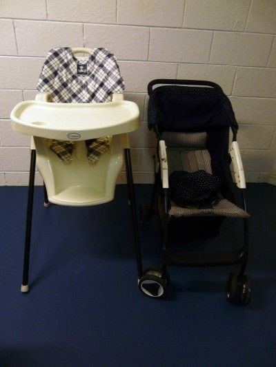 Free use of highchair and buggy