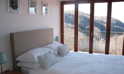 Double room in Villa Sereni with private balcony