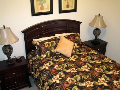 Downstairs Queen Bedroom with Plush Pillowtop Mattress