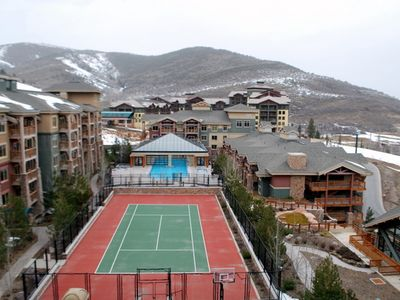 Tennis Court, Basketball court and Play Ground Area to enjoy in the summer