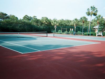 There are 2 tennis courts in Carillon Beach available for your use as desired!