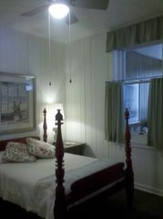 Northport cottage photo - The Green Room has a full size, antique tester bed circa 1850.