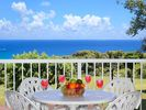 Ocean view from living room lanai - Princeville condo vacation rental photo
