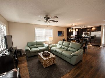 Blue Mountain Beach condo rental - Open Concept Living, Dining and Kitchen