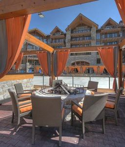 Truckee condo rental - Village Area / Ice Rink - Just steps away from the front door of this condo!