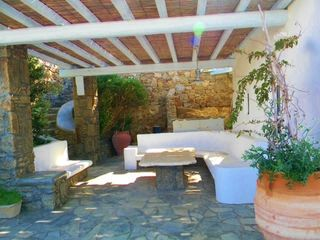 Mykonos villa photo - Hang out at one of your shaded patios