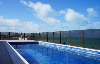 Manaíra, 2 qts (1ste), 100 m from the sea, panoramic view, great location, new