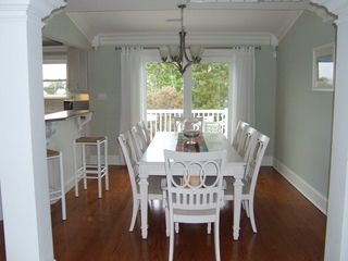 Beach Haven house photo - Dining Room to Deck