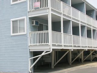 Dominica Beach Ocean City condo photo - Corner unit with spacious balcony