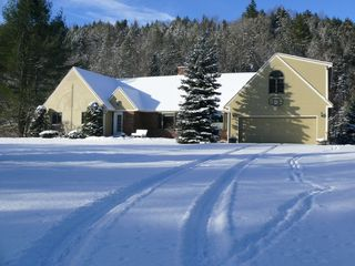 Gorham apartment photo - Winter time -Plenty of snow to play!
