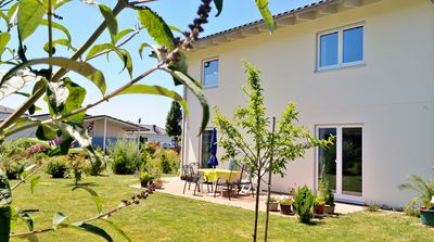 House, AUGGEN, 112sqm, 2 bedrooms, max. 4 people, garden, terrace