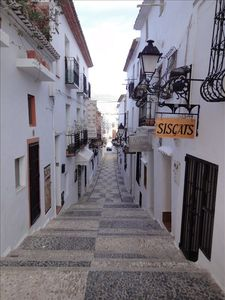 Nearby old town of Altea