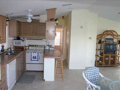 Fully Equipped Kitchen with brand-new refrigerator
