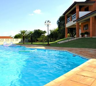 Farm to have fun with your family in Boituva with pool and barbecue