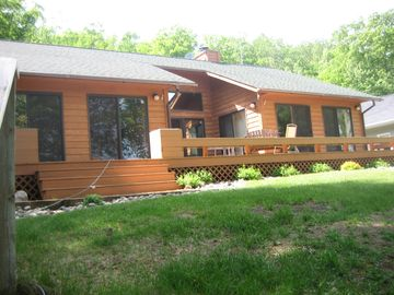 Gull Lake cabin rental - Lakeside