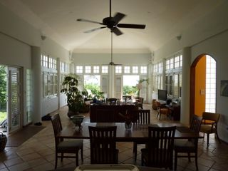 Vieques Island villa photo - Expansive Living and Dining