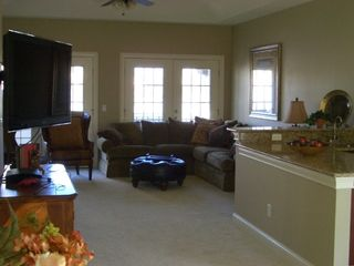 Upstairs Entertainment Area with Wet Bar