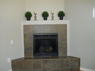 Desert Ridge Scottsdale condo photo - Gas Fireplace in Living Room