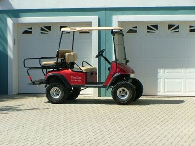 Customized Street Legal Golf Cart - Ability to drive all over Crystal Beach area