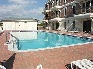 Seacrest Beach studio photo - Off-season heated lap pool is directly behind your building. One of TWO pools.