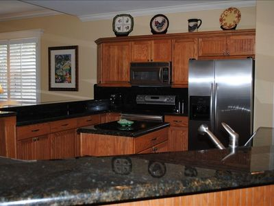 Updated Kitchen with Granite Counter Tops