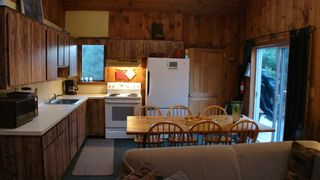 North Conway house photo - View of Kitchen and out to large deck
