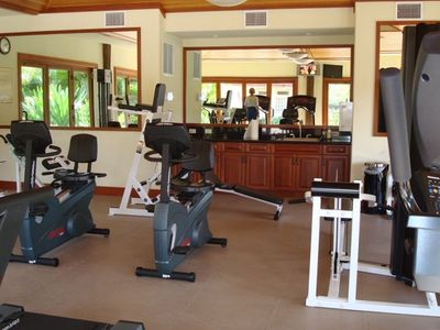 Interior of the exercise room