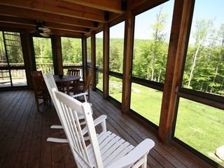 Andover house photo - Screened porches for bug season.