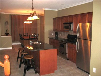 Prepare your feast in the fully equipped kitchen and dining area.