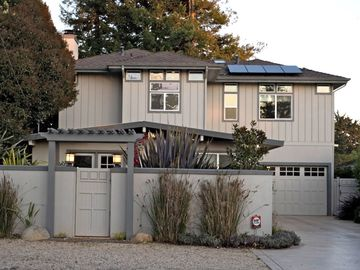 Aptos house rental - Drive up to the front of the house from the cypress lined country road