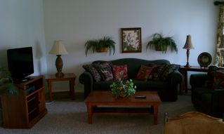 Corpus Christi condo photo - Living area w/sleeper sofa