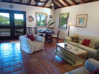 Fish Bay cottage photo - Living and Dining Area toward Deck Doors