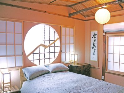 Kyoto townhome rental - Western style bed