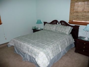 Queen Size bedroom with closets and end tables
