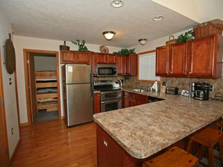 Towamensing Trails chalet photo - Kitchen with Breakfast Bar