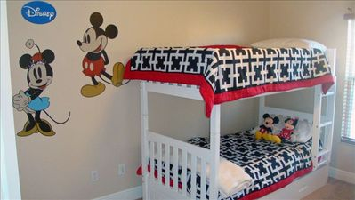 Reunion townhome rental - Mickey & Minnie Room